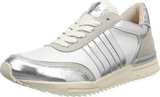 Sneakers Weiß Imi Basses Mesh Blanc Suede 15bu0211 Femme 39 silver130 Buffalo Pu wX1Ogqw