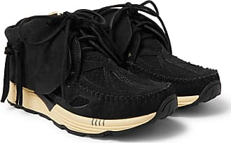 Sneakers And Runner Visvim Mesh Black Fbt Prime Suede 8Yxqv6I