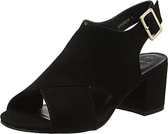 Wide Foot donna da Scarpe Tommy toe open 36 colore Look taglia New nero q85CEw1