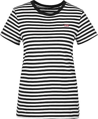 Levi's shirt Rayé Perfect W xs Gr Femmes Blanc Noir T Eu BCBr6txq