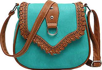 Diagonales onesize Retro Dame Gkkxue Paketfreizeitpaket blue Schulterbeutel 8On0PXwk