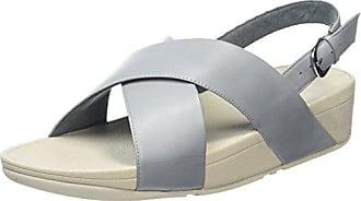 leather Ouvert Bleu Sandals strap Back Blue Lulu Femme Cross 534 Bout dove Fitflop Eu 37 w4q0XAFz
