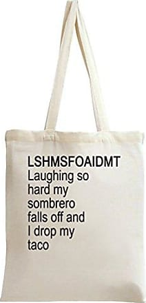 Styleart Tote And My Falls Drop Laughing Slogan Loud I Bag Taco Off Sombrero So F7awFBgqxr