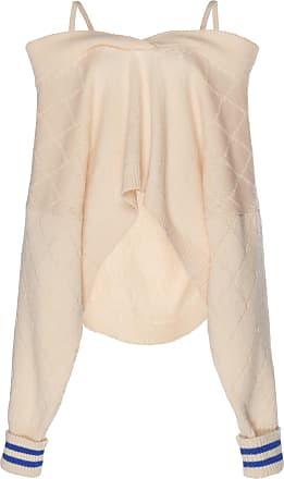 shoulder the Off Maison Argyle Pullover Margiela qwH5Et75x