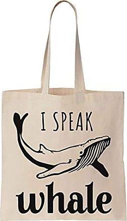 Finest Design Whale Canvas Speak Bag Cotton I Prints Majestic Tote p4rBpPx