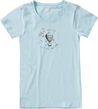 T Glitzerprint Blau shirt Hellblau Für Mädchen Seven Blue Mit x4qwv4H