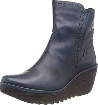 003 Femme Bleu blue Classiques 35 Eu London Yeti907fly Bottes Fly AqxwInf0gS