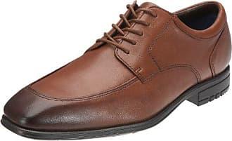 41 De Cordones Hombre Dark Fairwood Zapatos Maccullum Rockport Para Tan Eu Derby q1vfgw
