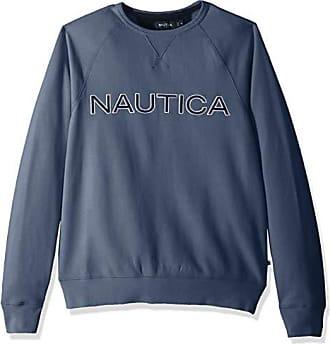 Graphic Felpa Blu bluestern Xl Uomo 4s6 Nautica Crew Fleece t15xqwwZ