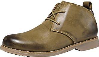 Herren 43 Stiefelamp; Stiefeletten Icegrey Leder Desert Boots Kurzschaft Khaki Eu R5jLAqSc34