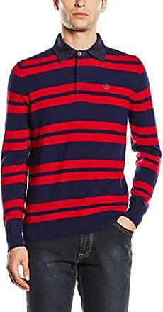 Polo Cqhfavz Macson Azul M Rojo xnYg86Y1