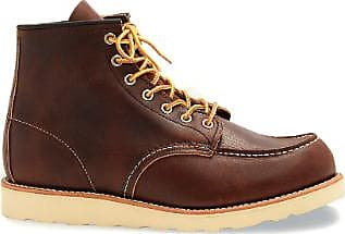 briar 6 Shoes Moc Brown Red 10uk Classic gold slick zoll Boot Toe natural Wing oil leder Inzz5p1x