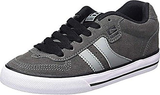 Skate Mens Charcoal Trainers White Encore 2 Suede Globe XqYPE
