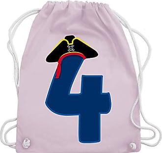 Turnbeutel Gym Wm110 Geburtstag Unisize Rosa Pastell Piratenhut Bag amp; Kind Shirtracer 4 8dIq0vvw