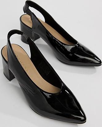 Vero Arrière Moda Bride Chaussures Noir À Vernies rdrxHzX