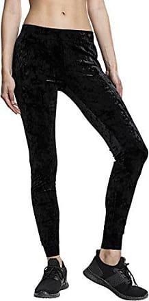 W Velvet 32 black Ladies 28 Leggings L Mujer Urban Negro Classics 7 ATxwqg