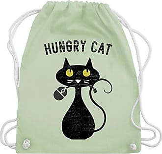 Geeks Hungry Grün Shirtracer Wm110 Unisize Turnbeutel Bag Pastell Nerdy Gym Cats amp; Nerds Cat EqEgTR4