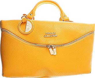 one Sac Versace Orange en Cuir clair main Soldes size Pas cher 2017 à  PCwxrqadC 69f084d1f0a