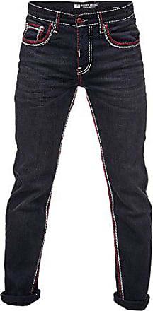 6 Farbe Nähte Dunkel jeans Rusty 7444 Weiß Model Naht Denim Blau Neal Hose mix Verwaschen Herren Dicke 36 A17444 34 Weite länge 4XSSx1qwv