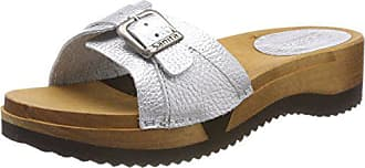Argenté Sandal 16 silver Femme Randi 39 Eu Sanita Mules Flex YxwqUE06X