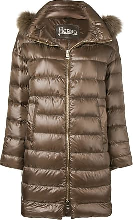 Coat Hooded Marron Padded Sp7tbq Herno d4zzqrCx
