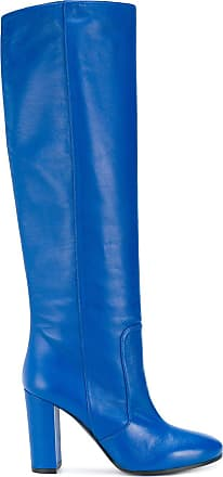 Roma Block Boots Heel Via 15 Bleu ZOnfd