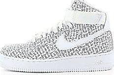 Wmns Hi black 1 Chaussures Fitness Force 100 De Lx White Air Multicolore 44 Femme Nike Eu pnTdd
