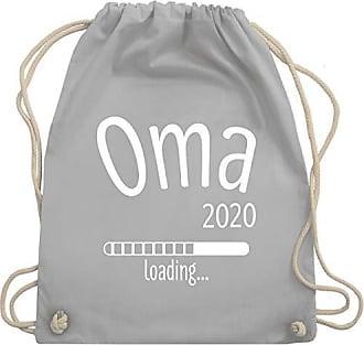 Hellgrau Loading 2020 Unisize amp; Oma Bag Shirtracer Wm110 Turnbeutel Gym 4pEPIWP
