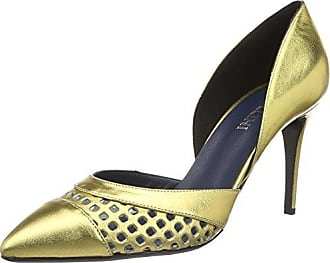 Bout 901 Or Eu gold Pollini 39 Shoes Escarpins Fermé Femme XAE0zA