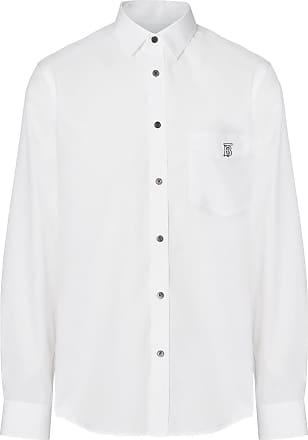 Weiß Hemd Mit Burberry Burberry Monogramm Hemd wv7x44