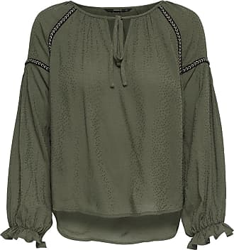 8 Onlsaint Shirt Only Wvn Blusa Verde 7 wHFp4O