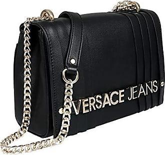 5 Bag Versace Borsa a Nero Donna Couture cm Jeans Tracolla 5x15x23 nxT8S