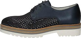 P805223d Giardini Femme Up Lace Shoes Nero Enchantment a7F1q8qn