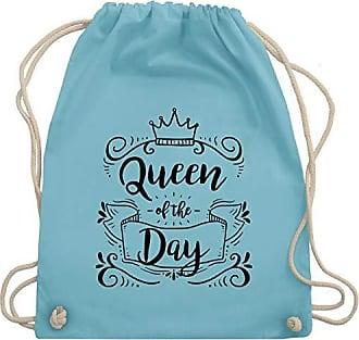 Typisch Bag Unisize amp; Shirtracer Hellblau Of Gym Queen Turnbeutel The Frauen Wm110 Day ZffxdSHqw