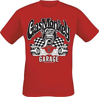 Burning Meliert Monkey Wheels Garage Rot shirt Gas T Ffx8OqAqw