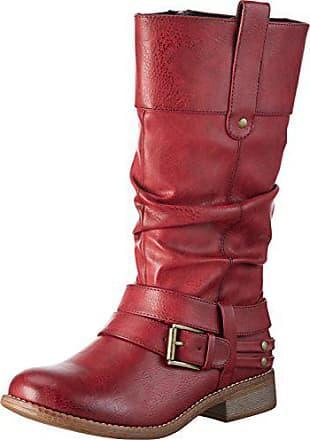 −56 En Mujer Botas Hasta Stylight Rojo Para Ahora wFqPqA