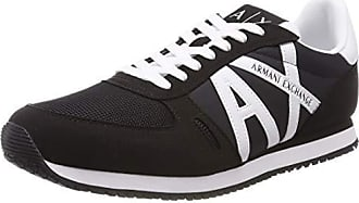 Lace Logo Armani Sneaker Up Herren With TqSF8w