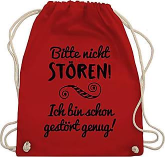 Rot Turnbeutelamp; Gym Shirtracer SprücheBitte Nicht StörenUnisize Bag Wm110 QrdCBxsth