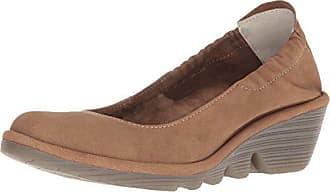 London 38 da donna con sabbia tacco Eu scarpe Fly chiuse beige Pled819fly T6nxvCC