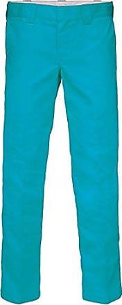 da slim Pantalone blu Bsk Produttore pantaloni blu Taglia 31 Dickies dritto 32 da uomo lavoro Sky nwrqrBYI