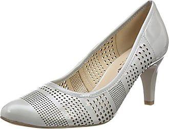 Caprice Eu Gris Mujer Tacón 22502 Patent Para 242 lt De 37 Grey Zapatos rrpwg7