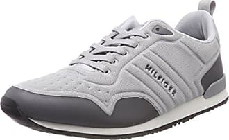 Steel Zapatillas Hilfiger Grey Iconic 42 Neoprene Eu Hombre Runner light Gris Tommy 902 Para xzf61I6w