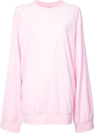 Rose Sweat Oversize Logo By Puma En Fenty À Rihanna Relief PxTzzn