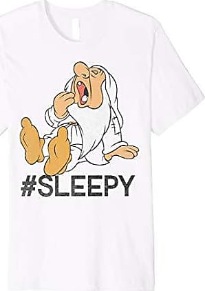 Snow Disney T shirt Hashtag White Graphic Sleepy SnZwBdq