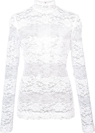 amp; Floral Blanc Gabbana Dolce Lace Top 6wpwST