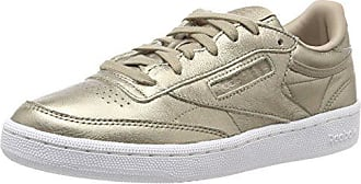 Femme Gold Eu Reebok Met De white C pearl grey Or 85 Gymnastique 37 Chaussures Club wn6UP6xSY