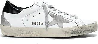 Golden Superstar Noir Blanc Métal Homme Goose Baskets UzVpqSGM