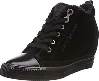 40 Robina Negro Mujer black Zapatillas Klein Eu Para Jeans 000 Altas Velvet Calvin TSRPqqw