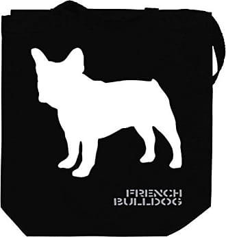 Bag French Tote Canvas Chees Idakoos Stencil Bulldog cYW6dcqO