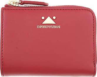 Leder 2017 Bordeauxrot Brieftasche Emporio Für Geldbeutel Geldbörsen One Sale Portemonnaie Im Size Günstig Armani Damen R7a7fgq